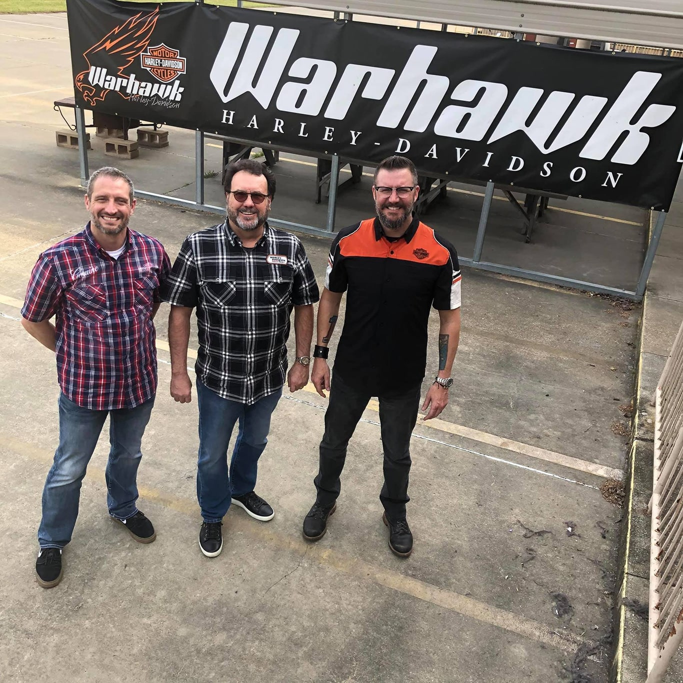 Image of Warhawk Harley Davidson staff members